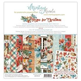Zestaw papierów 30x30 - Mintay - Home for Christmas