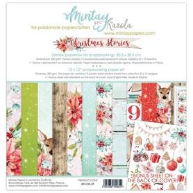 Zestaw papierów 30x30 - Mintay - Christmas Stories