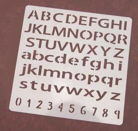 Szablon 13x13 cm (STEN15-32)