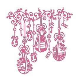 Wykrojnik Pisanki ażurowe na sznurkach (11990-S3)