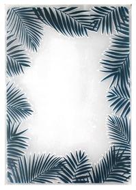Folder do embossingu - Liście tropikalne Ramka