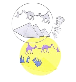 Wykrojnik Ramka Egipt Piramidy (269667-M3)
