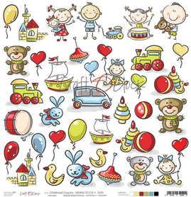 CHILDHOOD CRAYONS - II arkusz dodatków (II-CHC-26)