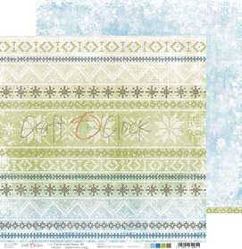 Arkusz papieru CC 30x30cm CAROLS IN THE SNOW - 02