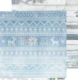 Arkusz papieru CC 30x30cm CAROLS IN THE SNOW - 04