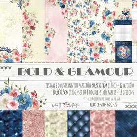BOLD & GLAMOUR - zestaw papierów 30,5x30,5cm