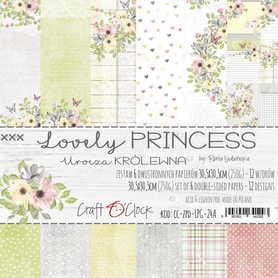 LOVELY PRINCESS - zestaw papierów 30,5x30,5cm