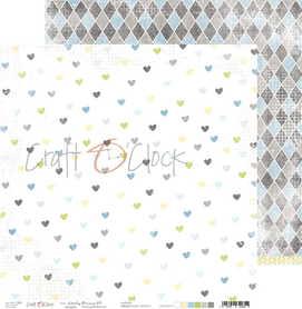 Arkusz papieru CC 30x30cm - LOVELY PRINCE - 04