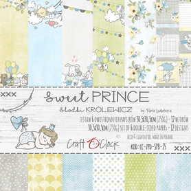 SWEET PRINCE - zestaw papierów 30,5x30,5cm