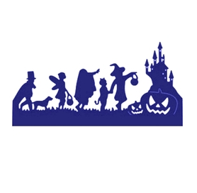 Wykrojnik Halloween Border 3 (0247-I2)