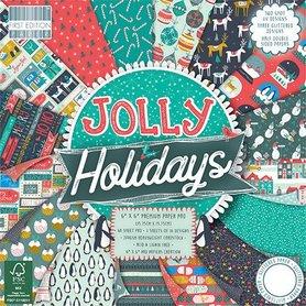 (P-DPL) ZeZestaw papierów 15x15 - First Edition - Jolly Holidays