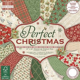 Zestaw papierów 15x15 - Perfect Christmas 48ark.