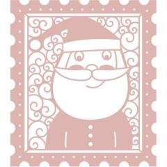 Wykrojnik Intricut Santa Stamp (MB)