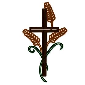 Wykrojnik Krzyż i kłosy (2776-B3)