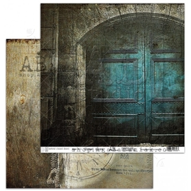 Arkusz papieru AB 'Behind closed doors 1' 30x30cm