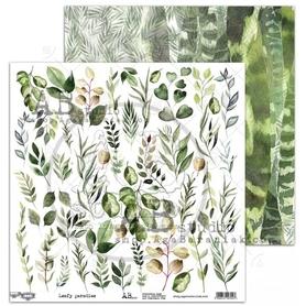 Arkusz elementów AB 'Leafy paradise' 30x30cm