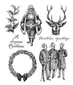 Stemple silikonowe Christmas (7919/16-1- ST2)