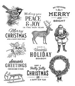 Stemple silikonowe Christmas (7919/16-3- ST2)