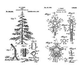 Stemple silikonowe Christmas (7919/16-4- ST2)