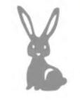 Wykrojnik Zając Królik mini (8919/9-R4)