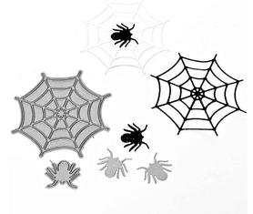 Wykrojnik Pająki i pajęczyna (2174-I2)