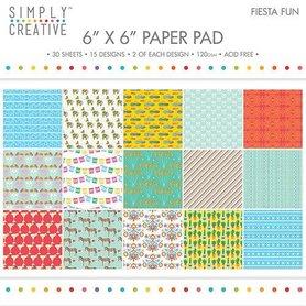 Zestaw papierów 15x15 - Fiesta Fun  30ark.