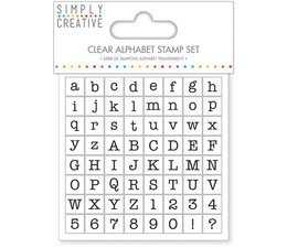 Stemple Simply Creative Alphabet - Serif