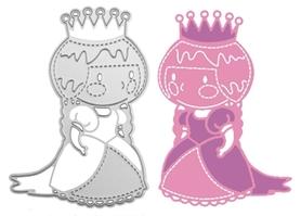 Wykrojnik Mała Księżniczka (0106-C4)