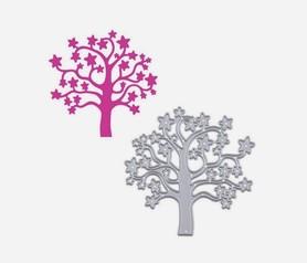 Wykrojnik Drzewko z gwiazdkami