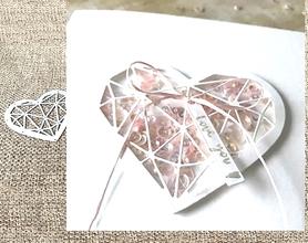 Wykrojnik Serce geometryczne (12919/2-E3)