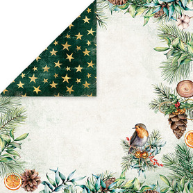 CP-CV02 Arkusz papieru 30x30cm Christmas Vibes 02