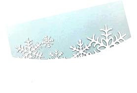 Wykrojnik AC - Border  Śnieżynki (23919/1-H2)