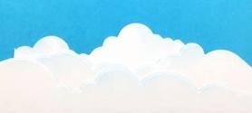Wykrojnik AC - Trzy bordery Chmury (23919/2-X4)