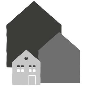 Wykrojnik - Trzy mini domki (H4065-P3)