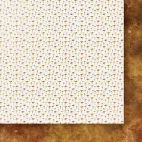Arkusz papieru Jesienne liście 06