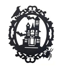 Wykrojnik AC Ramka owalna Halloween (27919/4-I2)