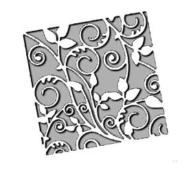 Wykrojnik - Ramka wewnętrzna zawijasy (H3654-W4)