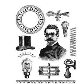 Stemple silikonowe Vintage Man (410-ST4)