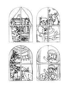 Stemple silikonowe Christmas (245855)