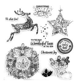 Stemple silikonowe Christmas (245866)