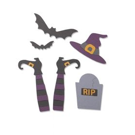 Wykrojnik Sizzix Thinlits - Spooky Witch  663461