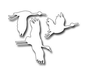 Wykrojnik - Żurawie Ptaki (1760-X2)