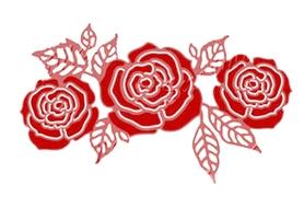 Wykrojnik - Róże (2197-W3)