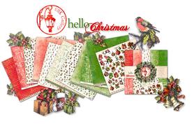 Zestaw papierów 30x30cm UHK - hello Christmas