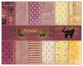 Zestaw papierów 30x30cm UHK - MAGIC twilight