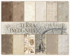 Zestaw papierów 30x30cm UHK - TERRA INCOGNITA