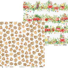 P13-CHT-02 Arkusz Christmas Treats 02 - 30x30cm