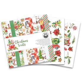 Bloczek papierów P13 Christmas Treats 15x15cm