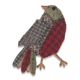 Wykrojnik Sizzix Bigz 664231 Patchwork Bird - ptak