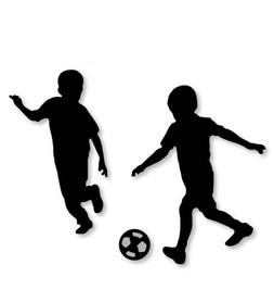 Wykrojnik Chłopcy Piłkarze (2886-U3)